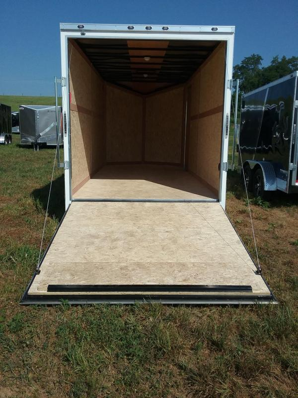 """7X16 (+12"""" Extra Height) Stealth Titan Enclosed Trailer"""