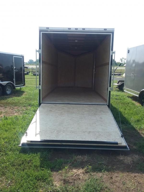 "7X16 (+12"" Extra Interior Height) Stealth Titan Enclosed Cargo Trailer"