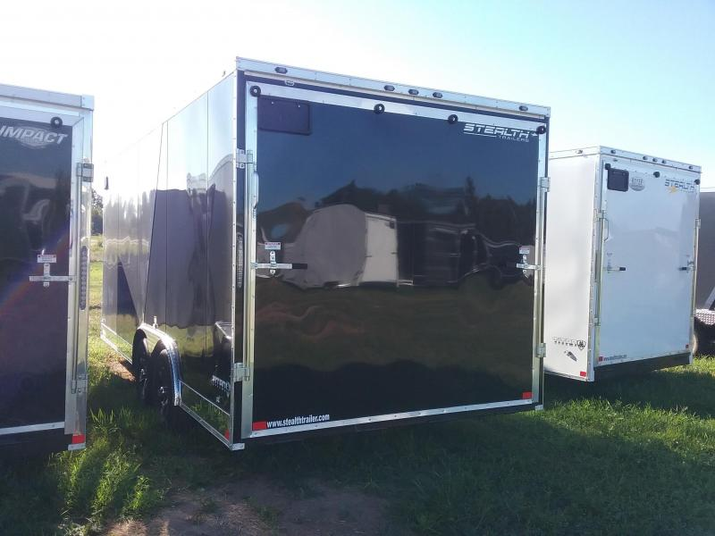 "8.5X18 (+6"" Extra Height) Stealth Titan Enclosed Cargo Trailer"