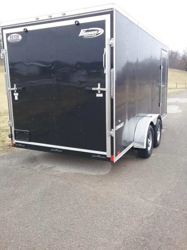 """7x16 (+12"""" Additional Height) Formula Conquest Enclosed Cargo Trailer"""