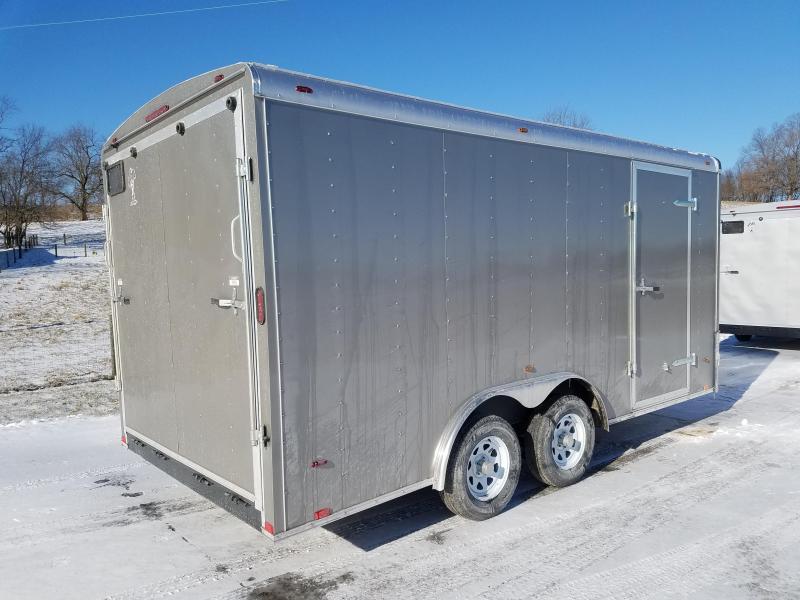 2018 Atlas 8X16 7K Enclosed Cargo Trailer