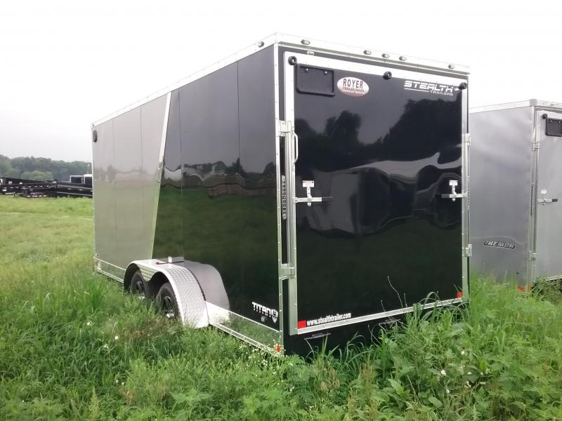 "7X18 (+12"" Extra Interior Height) Stealth Titan Enclosed Cargo Trailer"