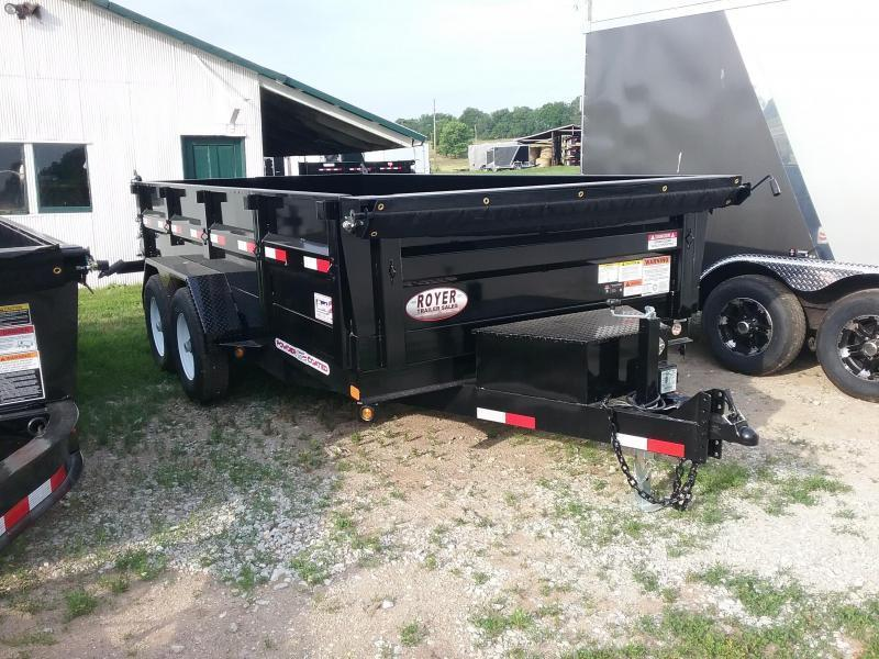14K 83x14 LP Liberty Dump Trailer