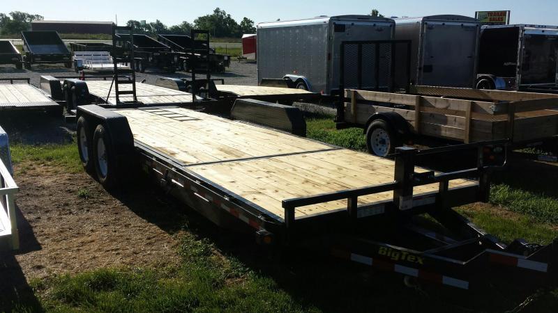 Big Tex 22' - 16'+6' 14K Partial Tilt Equipment Trailers