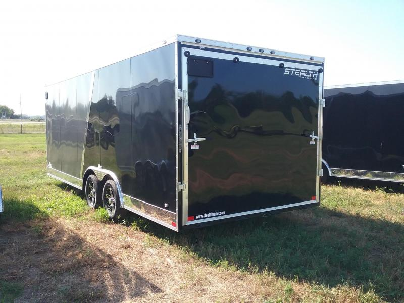 8.5X20 Stealth Titan Enclosed Cargo Trailer