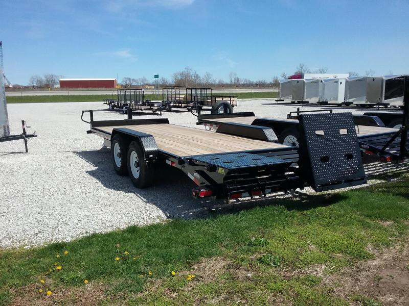 14ET 20' Big Tex Equipment Trailer