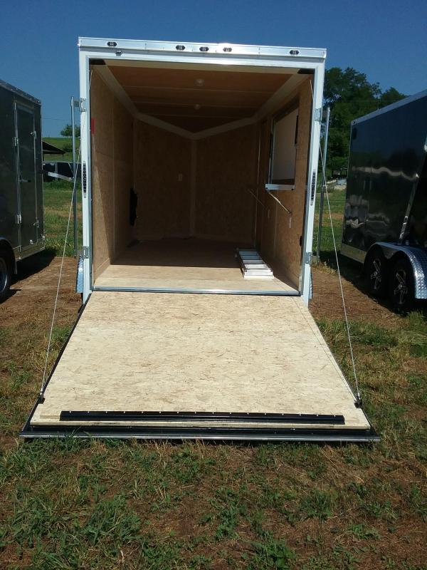 "7X14 (+12"" Extra Height) Stealth Titan Enclosed Cargo Trailer"