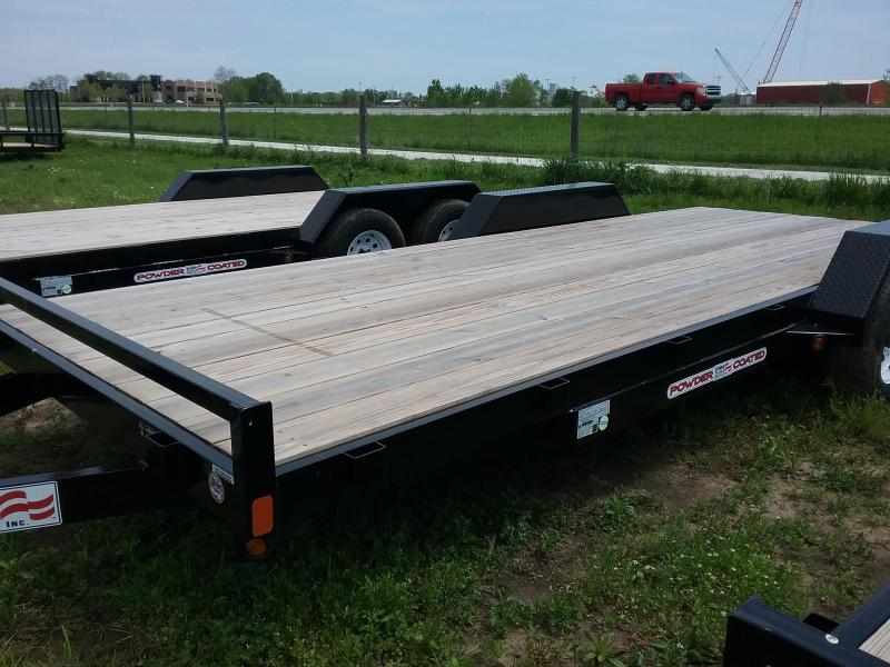 "82""x20' Liberty 10K Car Hauler with Dovetail and 5' Slide in Ramps  in Ashburn, VA"