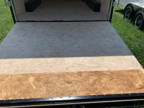 """8.5x16 (+12"""" Additional Height) Formula Conquest Enclosed Cargo Trailer with 5200# Axles"""