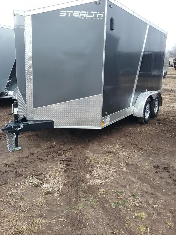 "2019 Stealth 7x14 (+6"" Additional Height) Titan Enclosed Cargo Trailer"