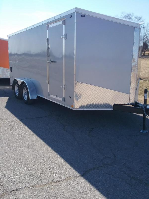 2019 Stealth 7x16 Titan Enclosed Cargo Trailer *HAIL DAMAGED-CALL FOR DISCOUNT PRICING*