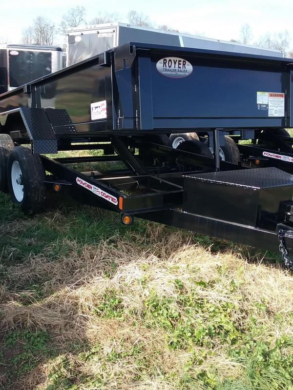 2019 Liberty 72x12 Low Pro Dump Trailer