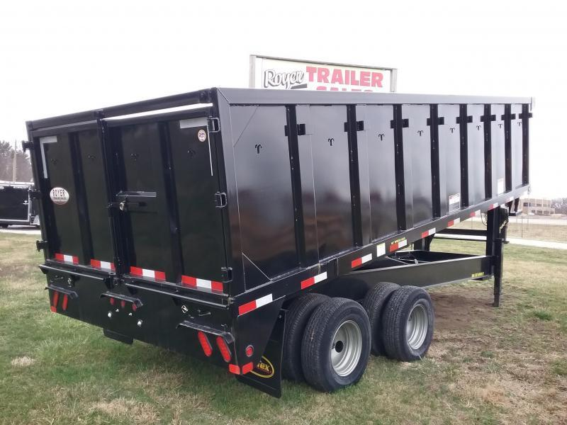 25DU Big Tex Dump Trailer