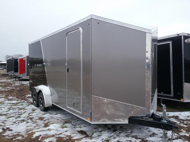 Impact 7X18 Plus 12 Inches Shockwave Enclosed Cargo Trailer