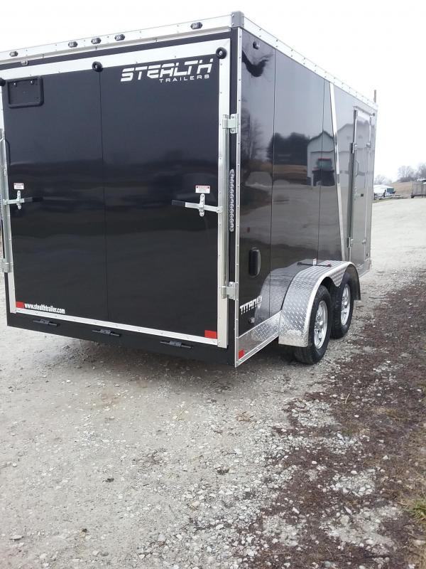 "7x14 (+6"" Additional Height) 2019 Stealth Titan Enclosed Cargo Trailer"