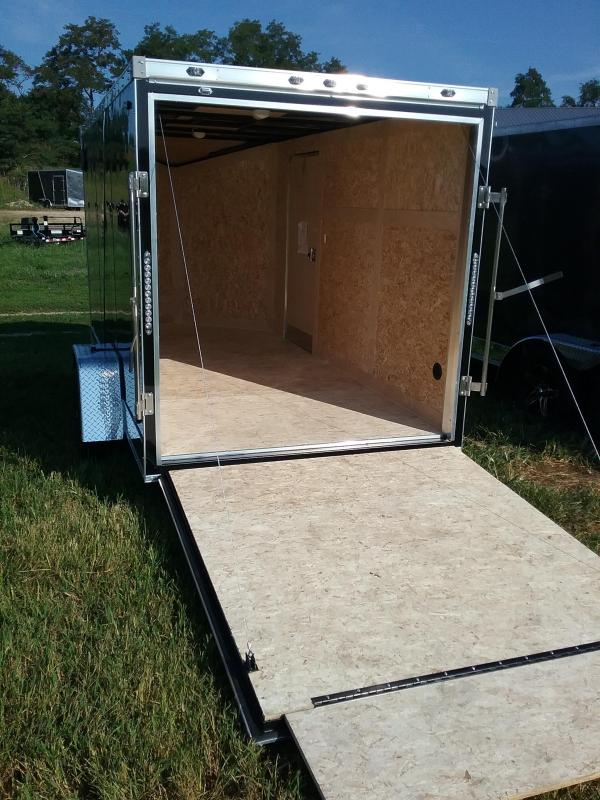 6x12 Stealth Titan Enclosed Trailer