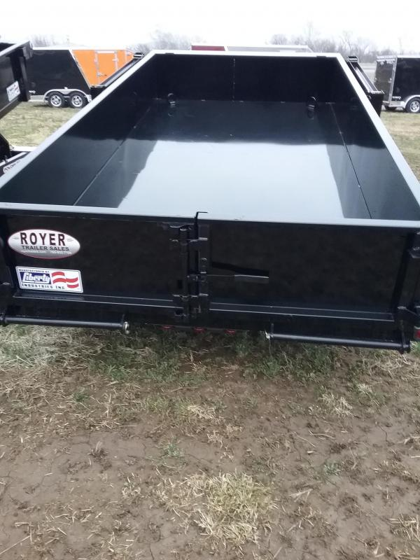 2019 Liberty 10K 72x12 Low Pro Dump Trailer