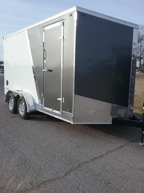 "7X14 (+12"" Additional Height) Titan Enclosed Cargo Trailer"