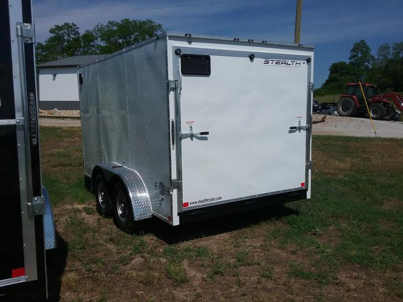 7X12 Stealth Mustang Enclosed Cargo Trailer