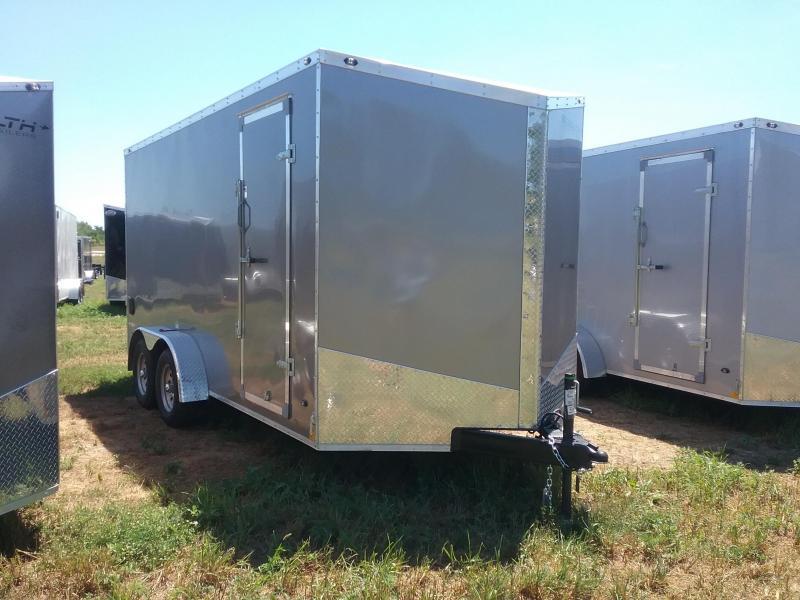 7X16 (Plus 12 Inches Interior Height) Stealth Titan Enclosed Cargo Trailer