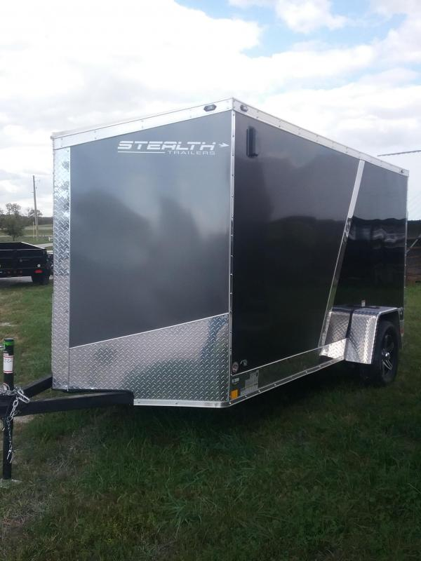 2019 Stealth Trailers Titan 6x12 Enclosed Cargo Trailer