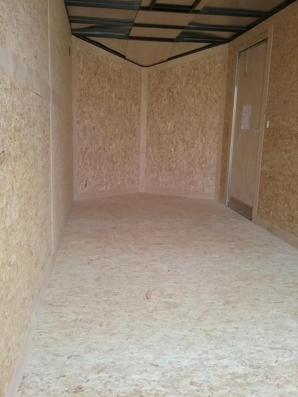 """2019 Stealth Trailers Mustang 7x16 (+12"""" Additional Height) Enclosed Cargo Trailer"""
