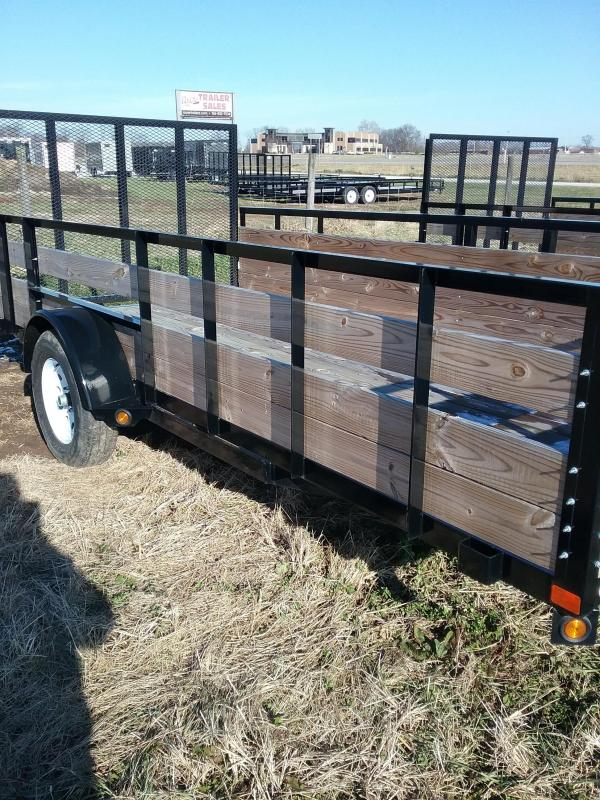 2019 Liberty 3 Board Side Utility Trailer