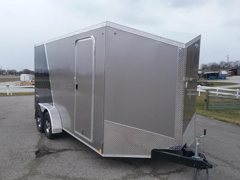 "Impact 7X16 (+6"" Extra Interior Height) Shockwave Enclosed Cargo Trailer"
