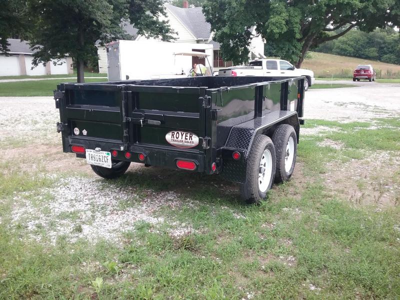 70SR 7K 5X10 Big Tex Dump Trailer