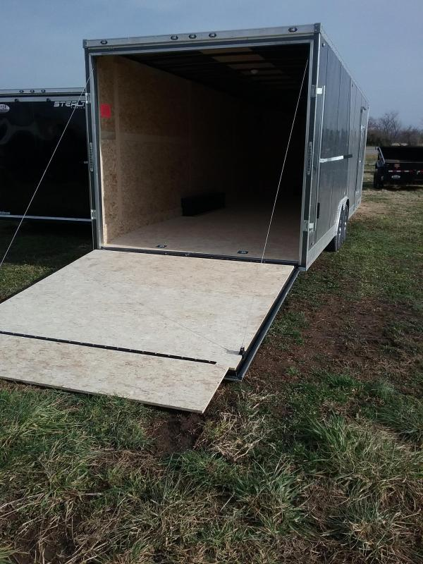 "2019 Stealth Titan 8.5 x 20 (+6"" Additional Height) Car / Racing Trailer"