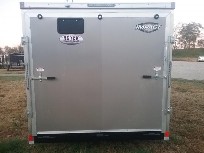 2019 Impact Trailers Impact Tremor 7x14 Enclosed Cargo Trailer
