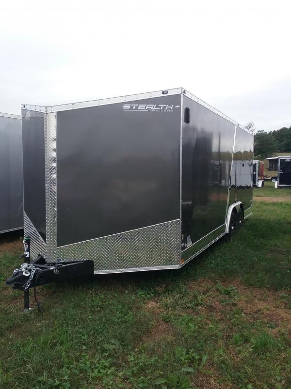 2019 Stealth Trailers Titan 8.5x20 Enclosed Cargo Trailer