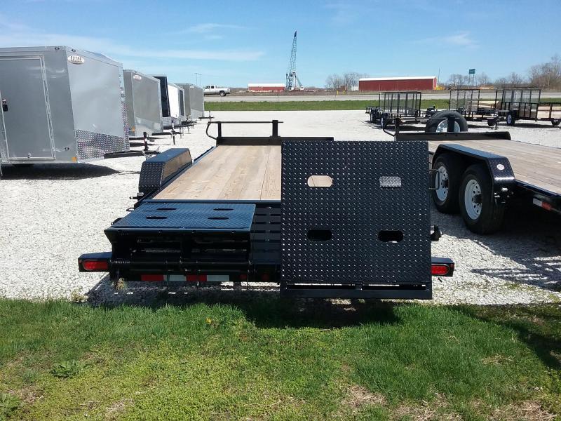 14ET 20' Big Tex Equipment Trailer