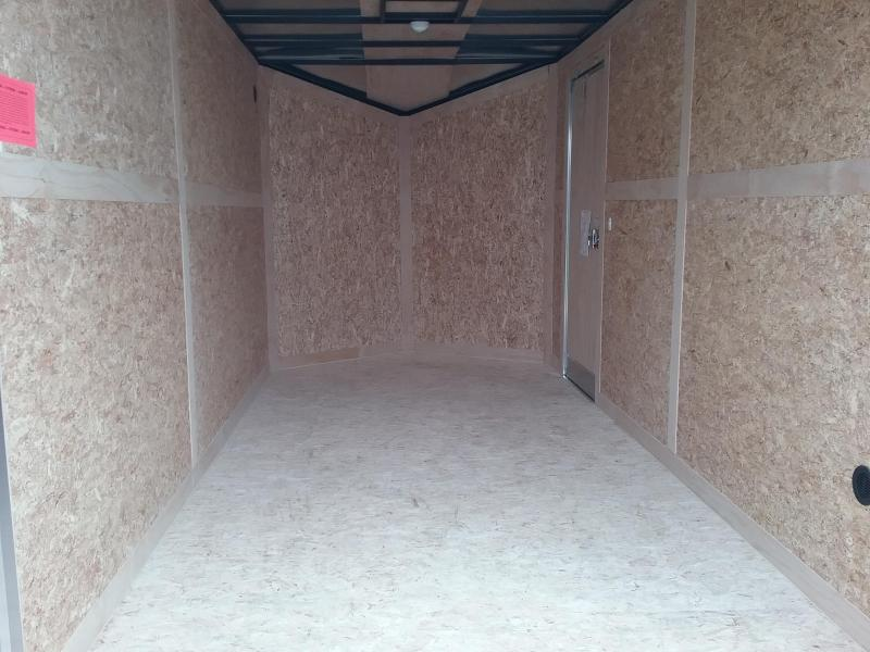 """7x14 (+12"""" Additional Height) Stealth Titan Enclosed Trailer *HAIL DAMAGED-CALL FOR DISCOUNT PRICING*"""