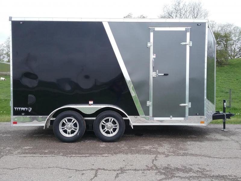 "7x14 (+12"" Additional Height) Stealth Titan Enclosed Trailer *HAIL DAMAGED-CALL FOR DISCOUNT PRICING*"