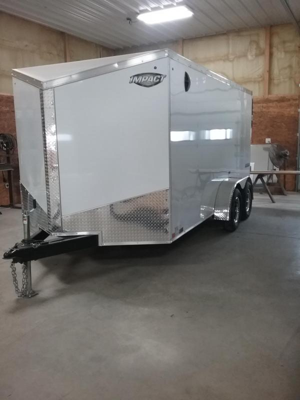2019 Impact Trailers Tremor Enclosed Cargo Trailer *HAIL DAMAGED-CALL FOR DISCOUNT PRICING*