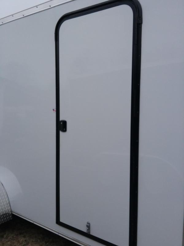"""7x16 (+12"""" Additional Height) Impact Tremor Enclosed Cargo Trailer"""