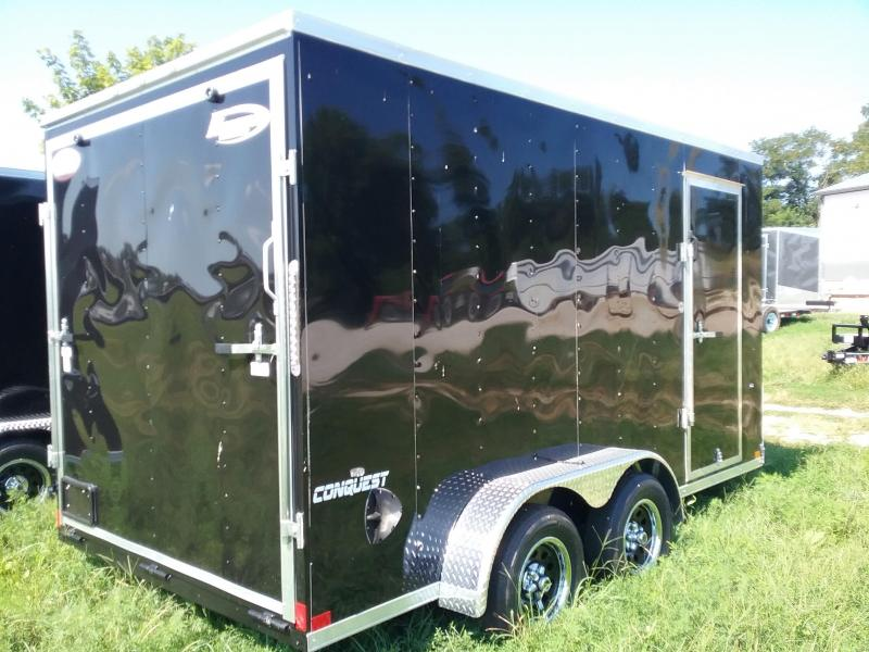 "7x14 (+12"" Additional Height) Formula Conquest Enclosed Trailer"