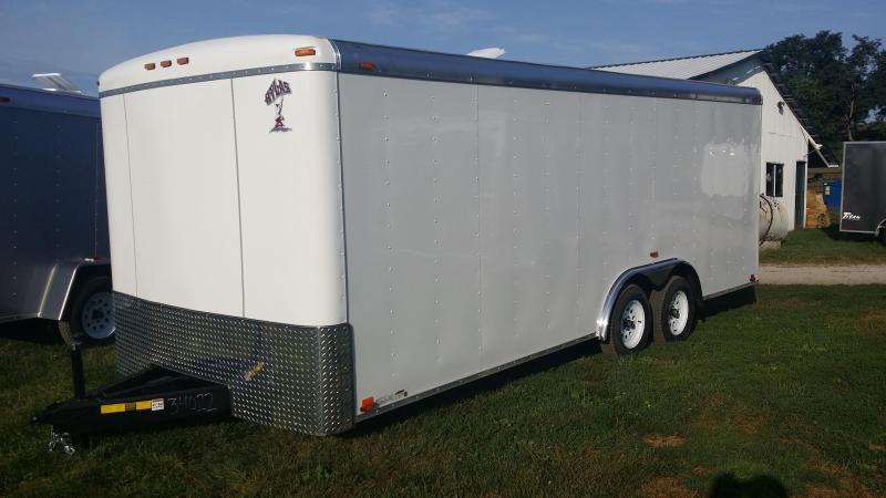 Atlas Specialty Trailers 8X20 7k GVWR Cargo / Enclosed Trailer
