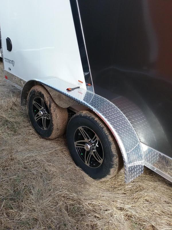 """27x16 (+12"""" Additional Height) Stealth Titan Enclosed Cargo Trailer with Flash Package"""