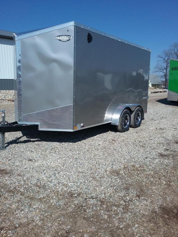 "7x14 (+12"" Additional Height) Impact Tremor Enclosed Cargo Trailer"