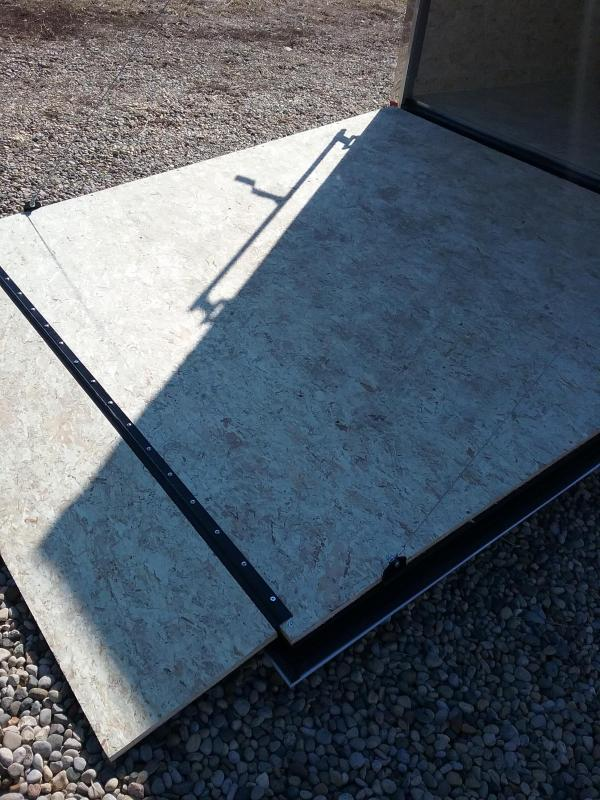 """7x14 (+12"""" Additional Height) Impact Tremor Enclosed Cargo Trailer"""