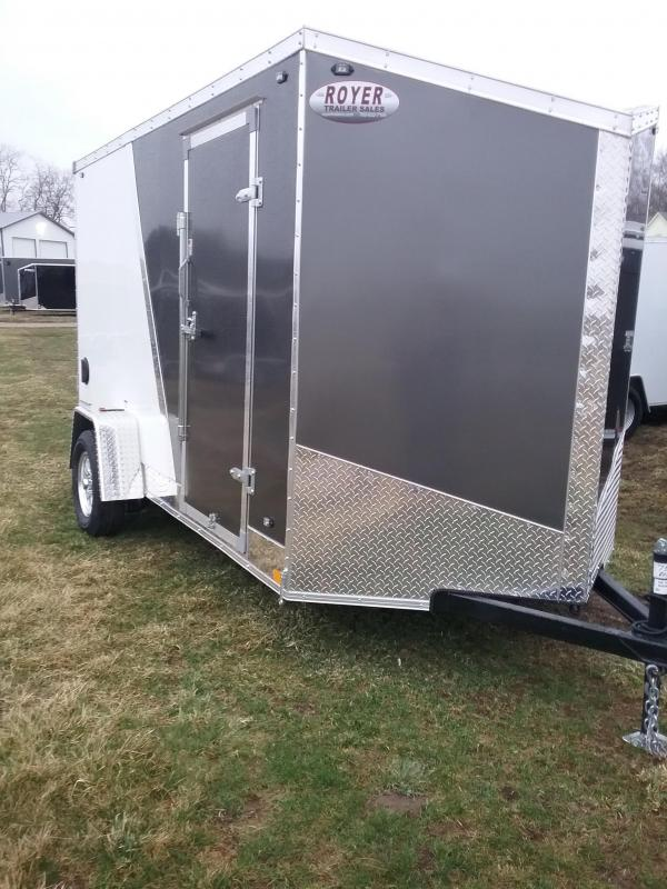 "6x12 (+6"" Additional Height) Stealth Titan Enclosed Cargo Trailer"
