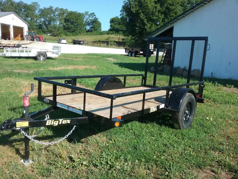 5X10 30SA Big Tex Utility Trailer