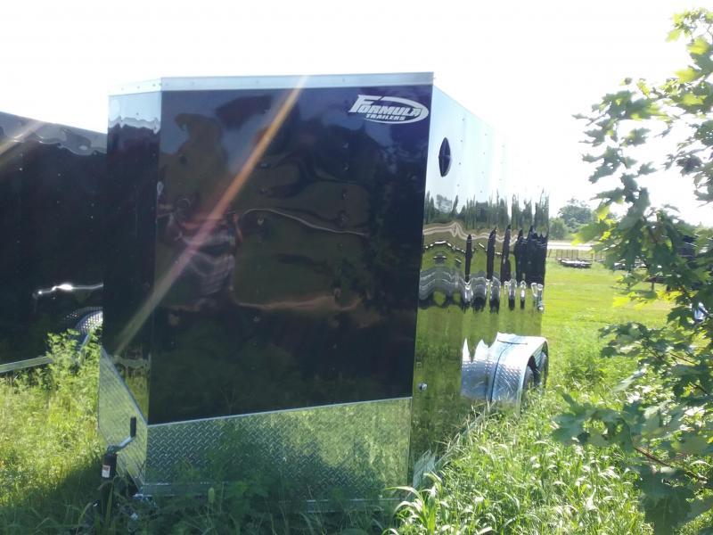 7x16 Formula Conquest Enclosed Trailer