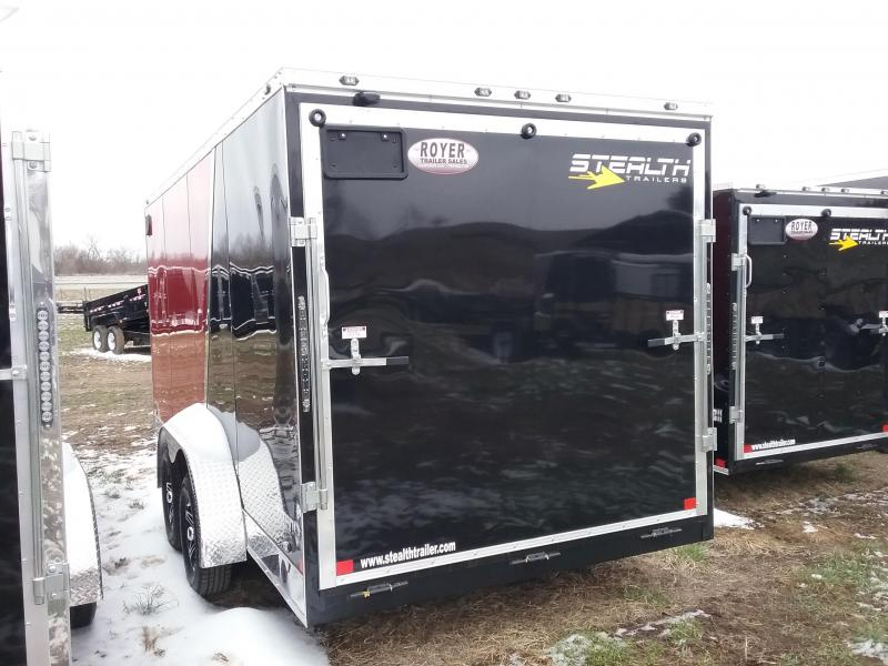 "Stealth 7X16 (+6"" Extra Interior Height) Titan Enclosed Cargo Trailer"