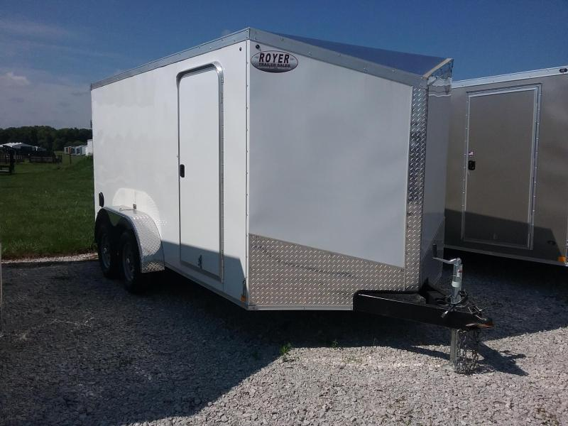 Impact 7X14 Shockwave Enclosed Cargo Trailer