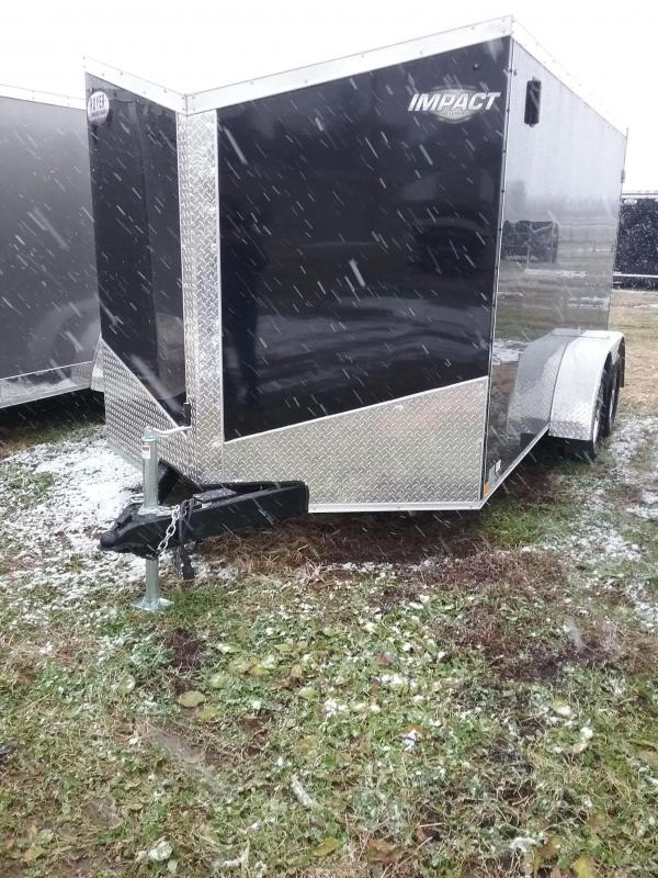 2019 Impact 7x14 Tremor Enclosed Cargo Trailer