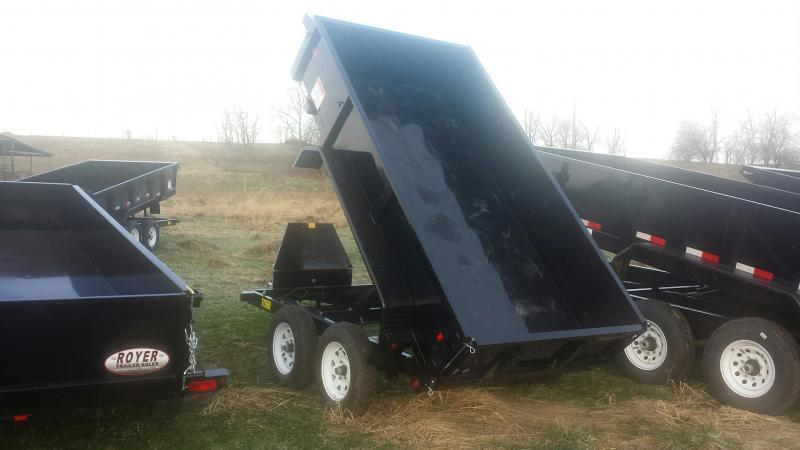 NEW Big Tex Trailers 5X10 70SR 7K Dump Trailer