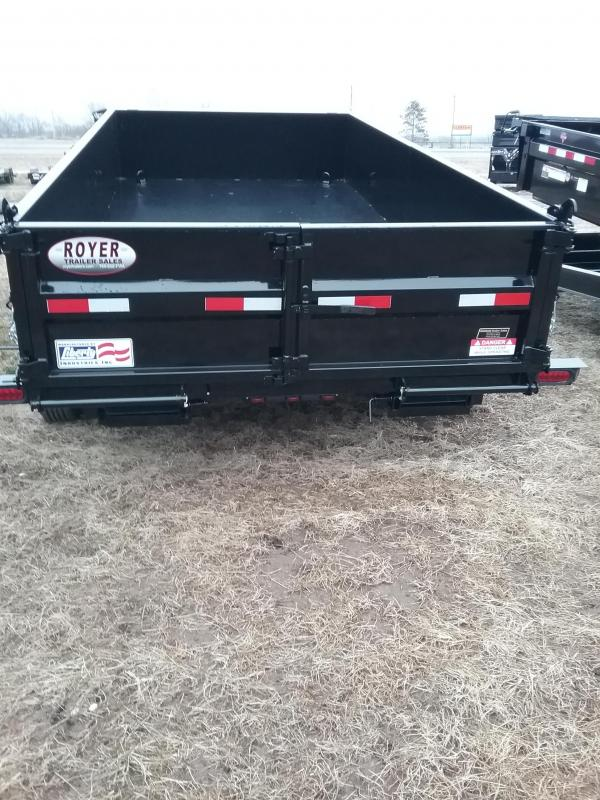 "Liberty 14K 83""x14' Dump Trailer with 7 Gauge Floor"
